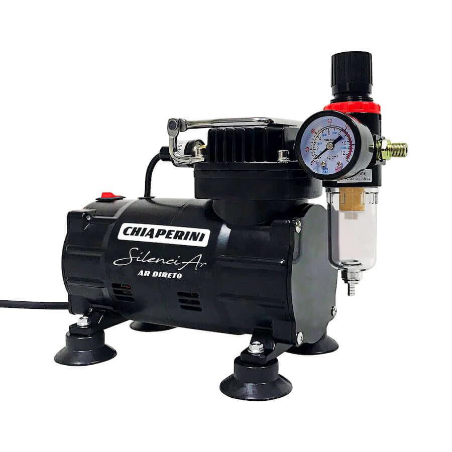 Motocompressor Ar Direto Silenciar C/M 1/5HP 150W - Chiaperini