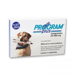Program Plus 23,0/460 Mg - Caixa contendo 2 comprimidos