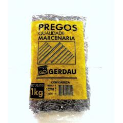 Prego Polido C/ Cabeça 10 X 10 (1Kg) Gerdau