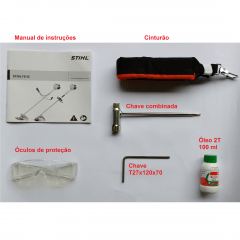 Roçadeira Stihl FS 55, GSB 230-2