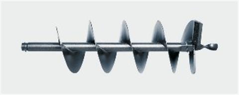 Broca perfuradora de solo de aço Ø 200mm