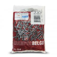 Grampo Galvanizado 1 X 9  (1Kg) Belgo