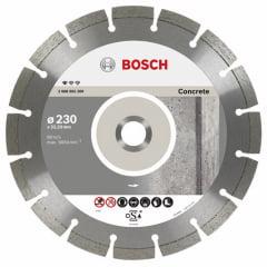 Disco de Corte Diamantado Profissional Para Concreto 230 mm 9'' - Bosch