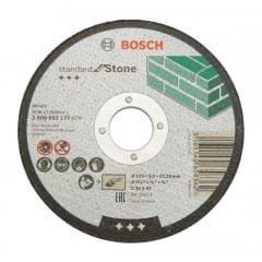 Disco de Corte Para Pedra 115 mm 4.1/2'' Gr.30 - Bosch