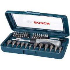 Jogo para Parafusar 46 Peças - Bosch