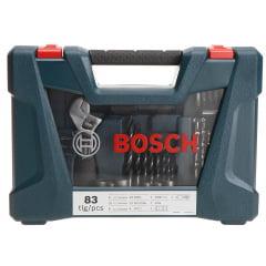 Jogo V-Line Titânio 83 Peças - Bosch