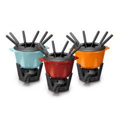 Fondue com 6 garfos - Panela Mineira