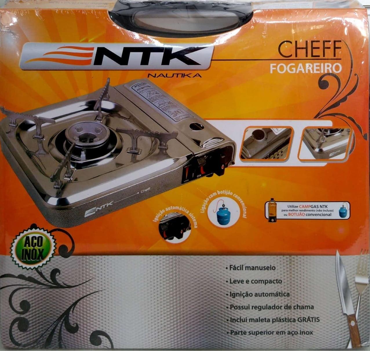Fogareiro Cheff Inox - Nautika